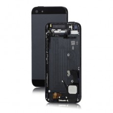 BACK COVER IPHONE 5G BLACK COMPLETO