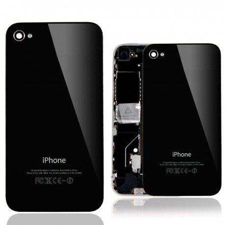 BACK COVER IPHONE 4G  BLACK
