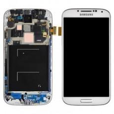 LCD SAMSUNG I9505  S4 WHITE
